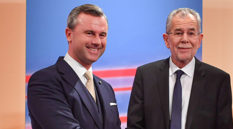 Autriche, élections législatives, Van der Bellen, Hofer