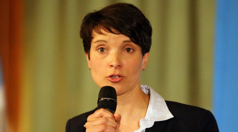 Frauke Petry, allemange, extrême-droite