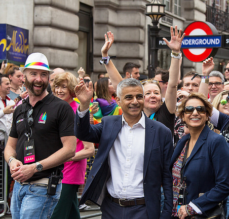Le maire de Londres, Sadiq Khan. Les travaillistes pourraient perdre des élus cette année. © CC Chris Beckett