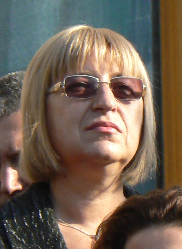 Tsetska Tsatcheva, ancienne Présidente de l'Assemblée nationale, a perdu face à l'eurosceptique Roumen Radev. © CC Vassia Atanassova