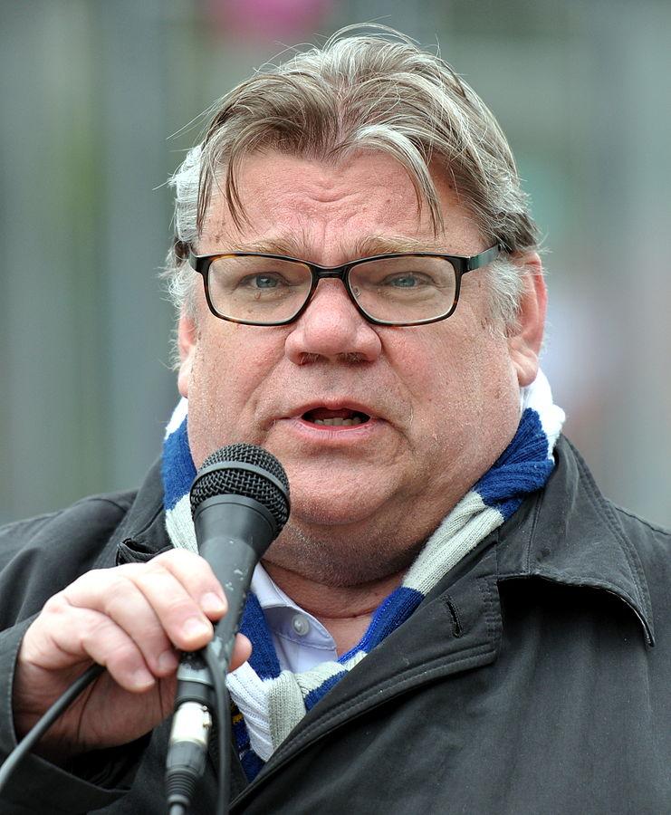 Timo Soini, le leader du parti des Vrais Finlandais. © CC Ppntori