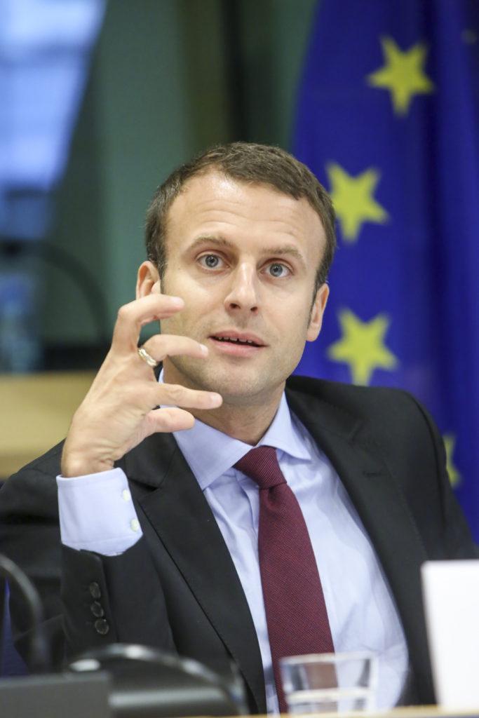Emmanuel Macron, l'outsider pro-européen. © © European Union 2014