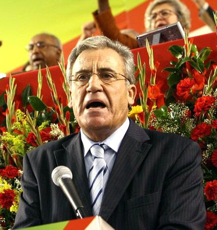 En 2015, les Portugais avaient fait confiance aux communistes. Ici, Jerónimo de Sousa, secrétaire-général de la Coalition démocratique unitaire. © CC