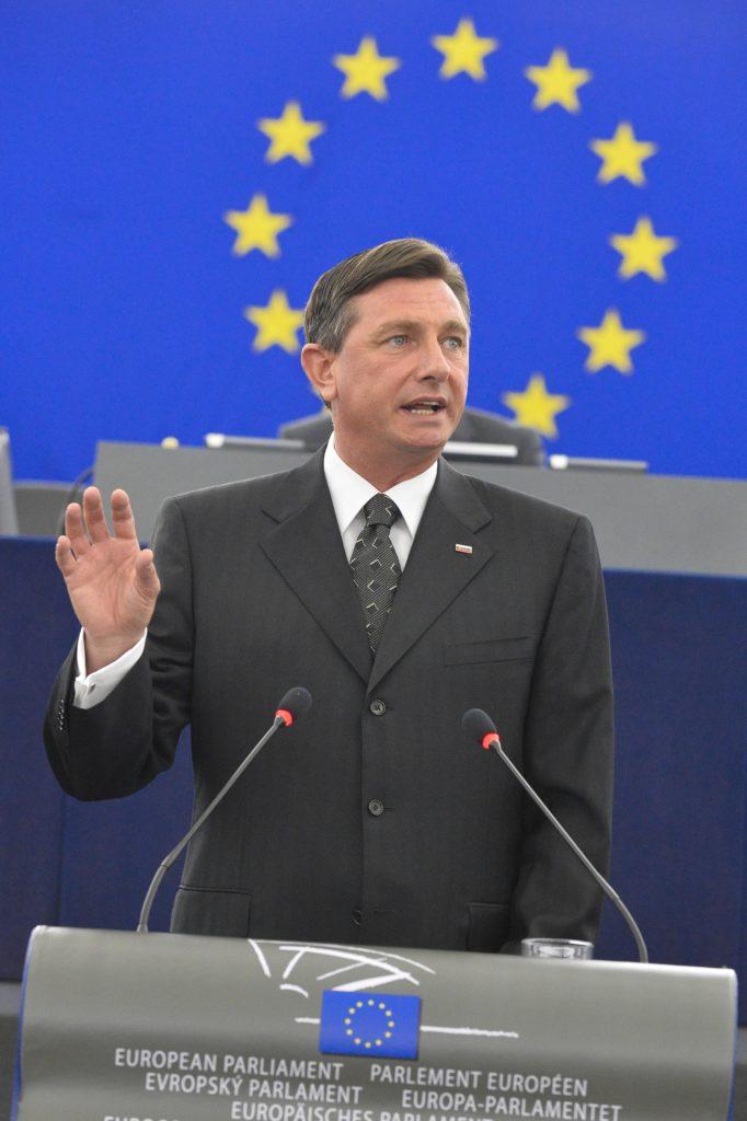 Borut PAHOR, président de la Slovénie, a toutes les chances d'être réélu. © European Union