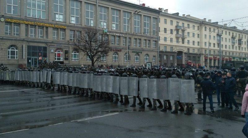 Léo-Paul Serre Biélorussie manifestations