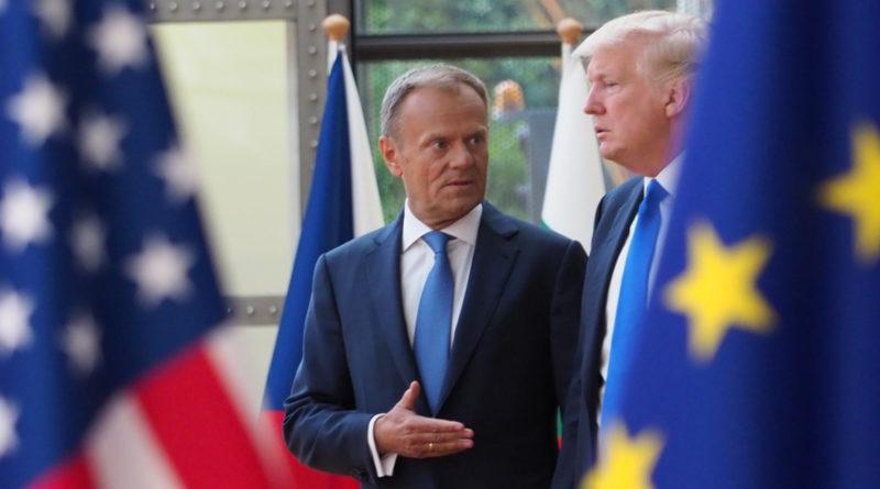Donald trump, donald tusk, OTAN, bruxelles, Elena Blum, l'OTAN