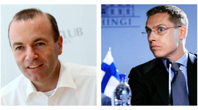 Duel au PPE : qui d'Alexander Stubb ou de Manfred Weber pour emmener la droite aux européennes ?