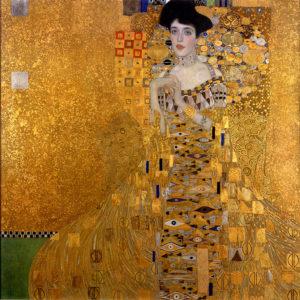 Le Portrait d'Adele Bloch-Bauer I, peint par Klimt en 1907.